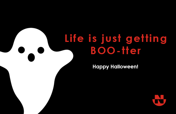 Life is getting BOO-tter